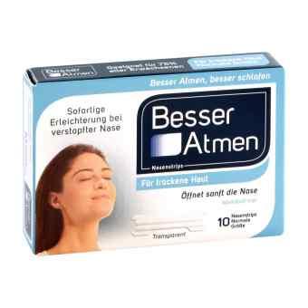 Besser Atmen (Breath Right) paski na nos ułatwiające oddychanie