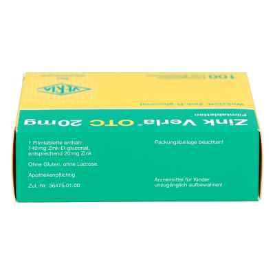 Zink Verla Otc 20 mg Filmtabl.  zamów na apo-discounter.pl