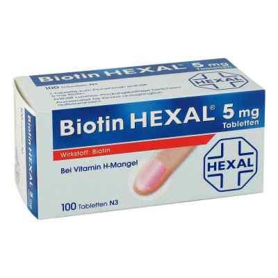 Biotin Hexal 5 mg Tabl.  zamów na apo-discounter.pl