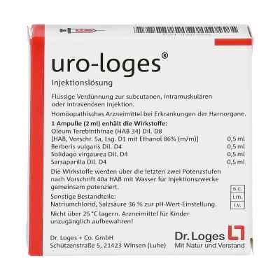 Uro Loges Injektionsloesung Amp.  zamów na apo-discounter.pl