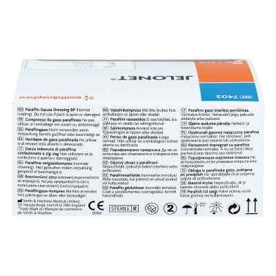Jelonet Paraffingaze 5x5cm Peelpack steril  zamów na apo-discounter.pl