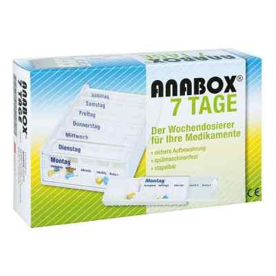 Anabox 7 Tage Wochendosierer weiss  zamów na apo-discounter.pl