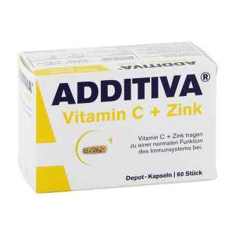 Additiva witamina C + cynk kapsułki 300 mg  zamów na apo-discounter.pl