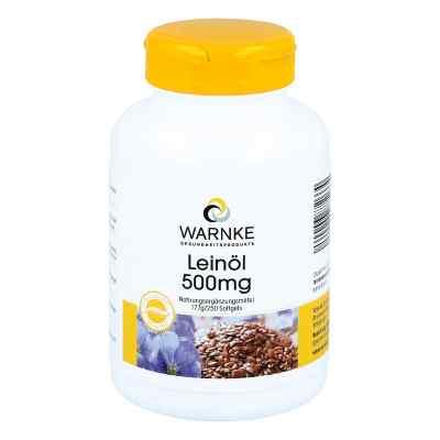 Olejek z lnu 500 mg kapsułki  zamów na apo-discounter.pl