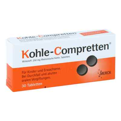 Kohle Compretten tabletki węglowe  zamów na apo-discounter.pl