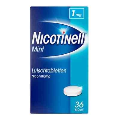 Nicotinell Lutschtabletten 1 mg Mint  zamów na apo-discounter.pl