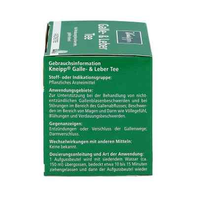 Kneipp herbata wspierająca woreczek żółciowy i wątrobę  zamów na apo-discounter.pl