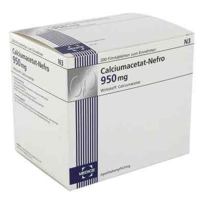 Calciumacetat Nefro 950 mg Filmtabl.  zamów na apo-discounter.pl