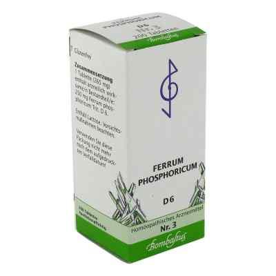 Biochemie 3 Ferrum phosphoricum D 6 Tabl.  zamów na apo-discounter.pl