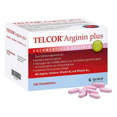 Telcor Arginin plus tabletki powlekane  zamów na apo-discounter.pl