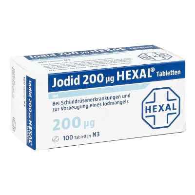 Jodid 200 µg HEXAL tabletki z jodem  zamów na apo-discounter.pl