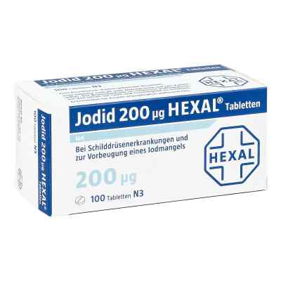 Jodid 200µg HEXAL tabletki  zamów na apo-discounter.pl