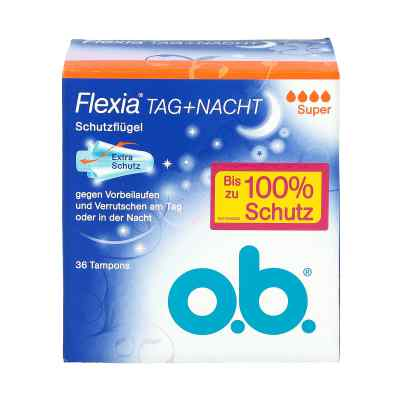 O.b. Tampons Flexia super  zamów na apo-discounter.pl