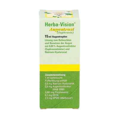 Herba Vision krople do oczu ze świetlika  zamów na apo-discounter.pl