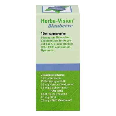 Herba Vision krople do oczu z borówek  zamów na apo-discounter.pl