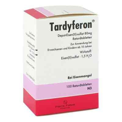 Tardyferon siraczan (II) żelaza 80mg  zamów na apo-discounter.pl