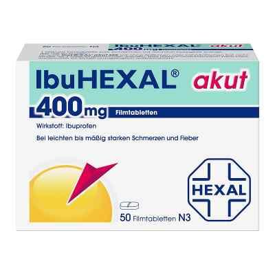 IbuHEXAL akut, tabletki przeciwbólowe 400mg  zamów na apo-discounter.pl
