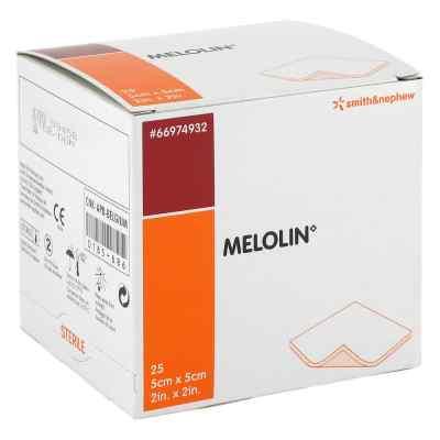 Melolin 5x5cm Wundauflagen steril  zamów na apo-discounter.pl