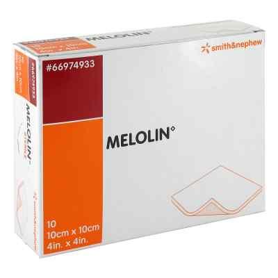 Melolin 10x10cm Wundauflagen steril