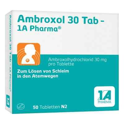 Ambroxol 30 Tab 1a Pharma Tabl.  zamów na apo-discounter.pl
