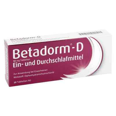 Betadorm D Tabl.  zamów na apo-discounter.pl