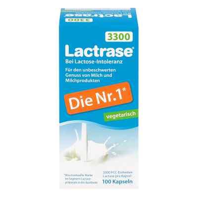 Lactrase vegetarisch 3300 kapsułki wegetariańskie  zamów na apo-discounter.pl