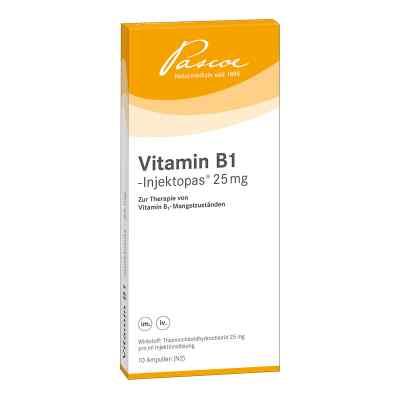 Vitamin B 1 Injektopas 25 mg Amp.  zamów na apo-discounter.pl