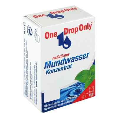 One Drop Only natuerl.Mundwasser Konzentrat  zamów na apo-discounter.pl