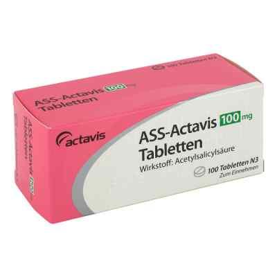 Ass Actavis 100 mg Tabl.