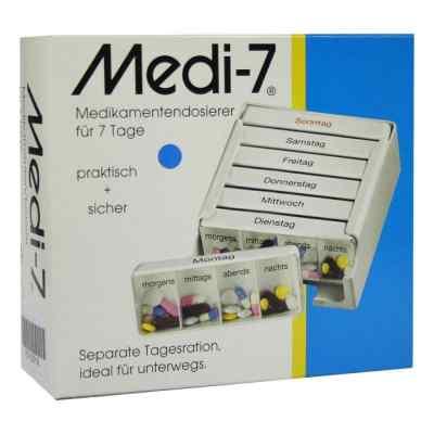 Medi 7 blau dozownik do leków