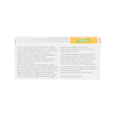 Tantum Verde 3 mg Lutschtabletten mit orange-honiggeschm.