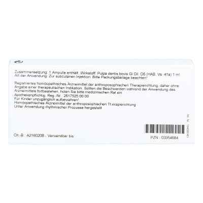Pulpa Dentis Gl D 6 Amp.  zamów na apo-discounter.pl