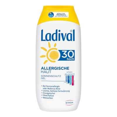 Ladival żel do skóry alergicznej z filtrem SPF30  zamów na apo-discounter.pl