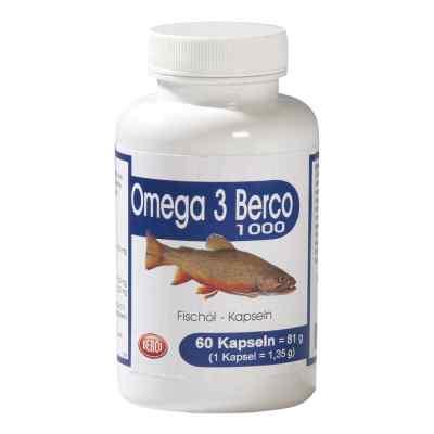 Omega 3 Berco 1000 mg kapsułki  zamów na apo-discounter.pl