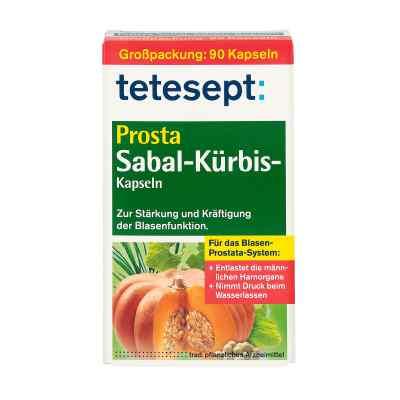 Tetesept Prosta Sabal kapsułki z dynią  zamów na apo-discounter.pl