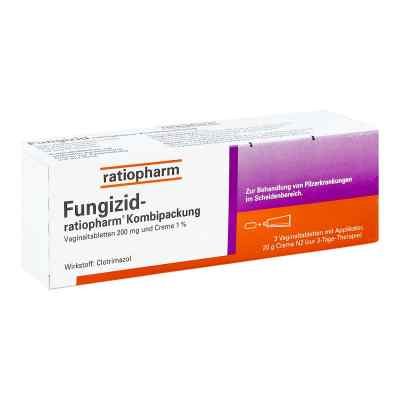 Fungizid ratiopharm 3 Vag.-tbl.+ 20g Creme