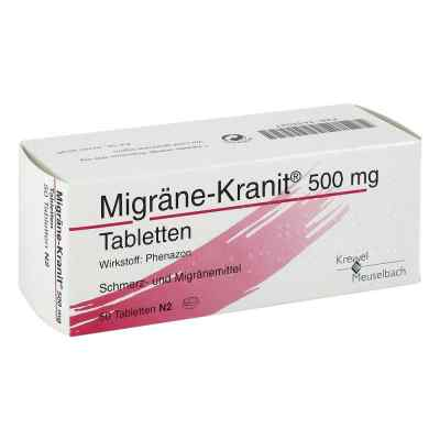 Migraene Kranit 500 mg Tabletten