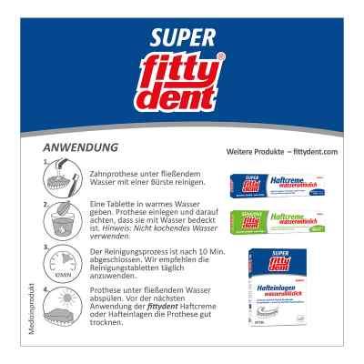 Fittydent super tabletki czyszczące  zamów na apo-discounter.pl