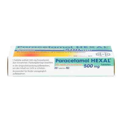 Hexal Paracetamol 500mg goraczka i ból, tabletki  zamów na apo-discounter.pl