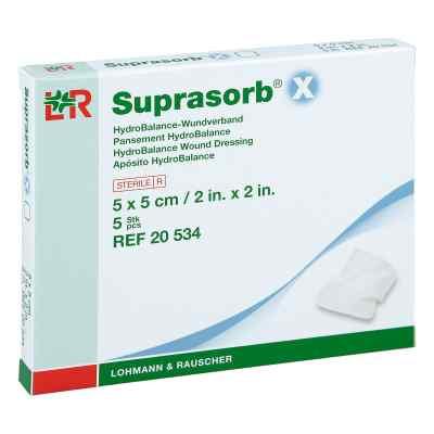 Suprasorb X Hydrobalance Wundverb.5x5cm  zamów na apo-discounter.pl