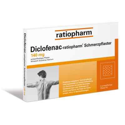 Diclofenac ratiopharm Schmerzpflaster  zamów na apo-discounter.pl