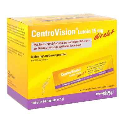 Centrovision Lutein 15 mg direkt Granulat  zamów na apo-discounter.pl