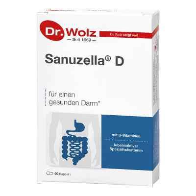 Dr Wolz Sanuzella D Zellulose kapsułki