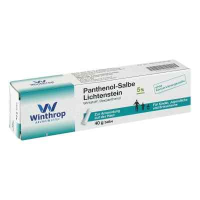 Panthenol 5% Lichtenstein Salbe  zamów na apo-discounter.pl