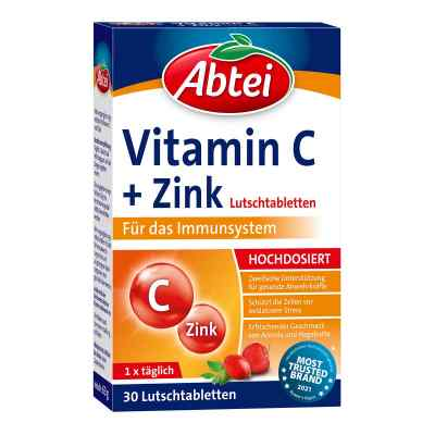 Abtei cynk z witaminą C tabletki do ssania  zamów na apo-discounter.pl