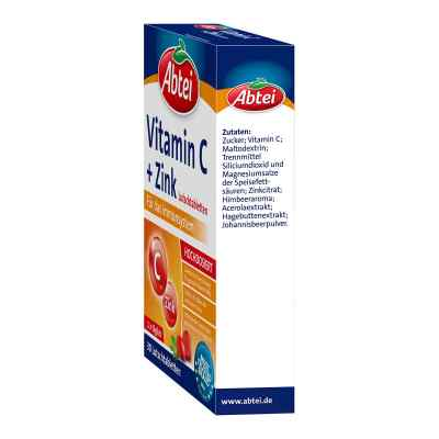 Abtei Vitamin C plus Cynk tabletki do ssania