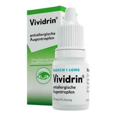 Vividrin antiallergische Augentr.  zamów na apo-discounter.pl