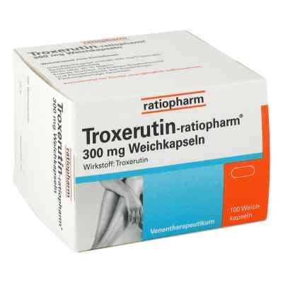Troxerutin ratiopharm 300 mg Weichkapseln  zamów na apo-discounter.pl