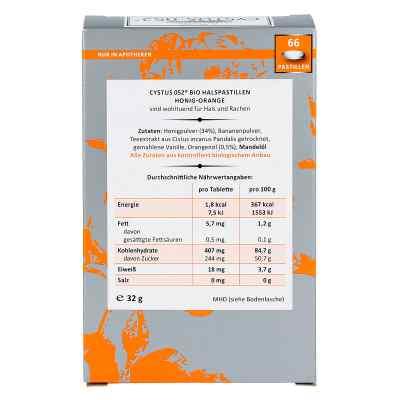 Cystus 052 Bio Halspastillen Honig Orange  zamów na apo-discounter.pl