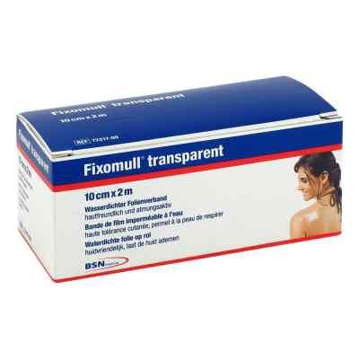 Fixomull transparent 2mx10cm  zamów na apo-discounter.pl